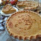 Amish Pumpkin Custard Pie Recipe