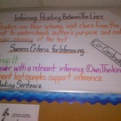 Inference Anchor Charts