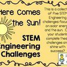 STEM Engineering Challenge Pack ~ Solar Energy Challenges ~ Set of Five!