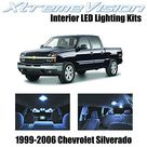 XtremeVision Interior LED for Chevy Silverado 1999-2006 (13 Pieces) Cool White Interior LED Kit + Installation Tool - Default