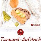 Teewurst Rezept   vegetarisch und gut. Brotaufstrich rauchig, herzhaft und ganz einfach gemacht