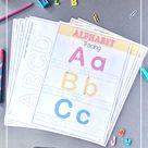 Kindergarten Tracing Printables
