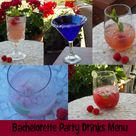 Bachelorette Party Drinks