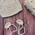 Crochet Bear Ears for Beanie Photo Tutorial