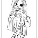 LOL Surprise OMG Swag Fashion Doll Coloring Page