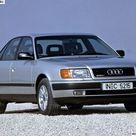 AUDI 100 SEDAN GERMANY 1990 YEAR.