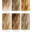 BLONDE HAIR COLOR CHART: THE SHADES KISSED BY THE SUN   Hera Hair Beauty