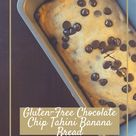 Gluten Free Chocolate Chip Tahini Banana Bread   Chelsea Jolene Wellness