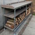 (Haard)houtopslag maken van Steigerbuis (TIP) | SteigerbuisOnline