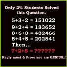Tough & Hard Excellent Genius Math Puzzles Problems Riddles With Answers Solution