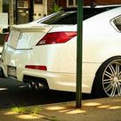 Alan's White Diamond Pearl 2009 Acura TL