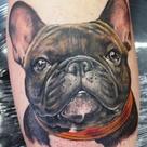 French Bulldog Tattoo