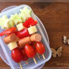 Picknick-Ideen - Wraps und Spieße