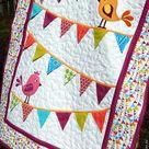 Купить Детское лоскутное одеяло покрывало