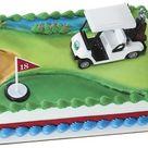 Golf Cake Topper Kit