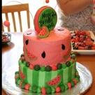 Watermelon Cakes