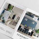 Real Estate Tabloid Brochure Canva Template  Realtor Flyer