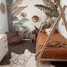 My sons Jungle room.