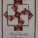 Christmas Pinwheel by jaydee - Cards and Paper Crafts at Splitcoaststampers