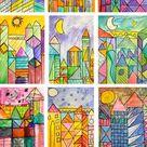 Paul Klee Art Lesson   Deep Space Sparkle