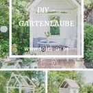 DIY Gartenlaube