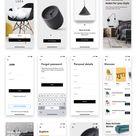 Loza   Furniture Shop App UI Kit 90803   TemplateMonster