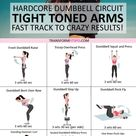 ?? Tone and Tighten Your Arms! Dumbbell Progressive Circuit to Get CRAZY Results..