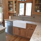 Update Oak or Wood Cabinets WITHOUT a Drop of Paint