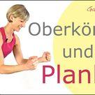 🍡16 min. Oberkörper, Schultern, Arme, Körpermitte, flacher Bauch | Planks & more