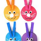 Color Matching Bunny Ears Craft | Our Kid Things
