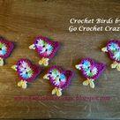 Crochet Bird Patterns