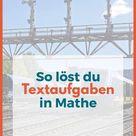 Textaufgaben lösen So klappt's   nachgeholfen.de