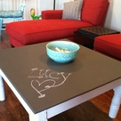 Chalkboard Coffee Tables