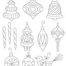 VINTAGE ORNAMENTS - 3 Themes Embroidery Patterns