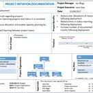 Project Initiation Template Free Download