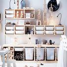 TROFAST Storage combination with boxes   white/white   IKEA