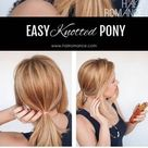 3 chic ponytail tutorials to lift your everyday hair game   Hair Romance