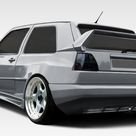 1985-1992 Volkswagen Golf 2DR Duraflex R-1 Wide Body Rear Bumper Cover - 1 Piece (S)