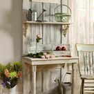 Interior Design Idea Old Door Upcycled Into Hall Table • Recyclart