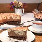 Marmorierter Schokomousse-Kuchen aus Irland