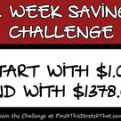 52 Week Savings