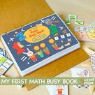 BUSY BOOK PRINTABLE My Body Worksheets Pre-K and K Learning | Etsy