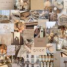 cream / beige aesthetic laptop wallpaper