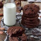 Schoko Cookies - Double Chocolate Cookies - Rezept - Sweets & Lifestyle