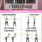 Arm Workout Women With Weights