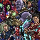 Avengers Infinity War by DavidCrabtreeArt on DeviantArt