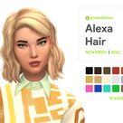 Alexa Hair - greenllamas | greenllamas on Patreon