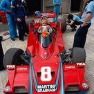 Hans Joachim Stuck, Alfa Romeo flat 12 cylinder powered Brabham BT 45