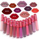 KADALADO Brand Waterproof Long Lasting Matte Liquid Lipstick Lip Gloss Lip Makeup Lip Tint Kit Beauty Cosmetics 24 Colors - 1 SHROOM