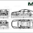 Audi A8 2008   Disegno 2D   30117   Model COPY   Italiano